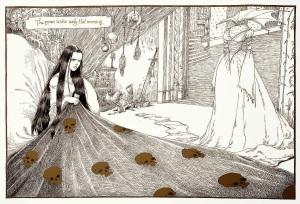 imagen de una de las ilustraciones del libro, obtenida dehttps://colorincoloradolibros.wordpress.com