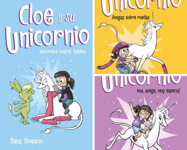 Una divertida serie comics protagonizados por una niña su amiga un tanto  especial ya que es un Unicornio. Todo empezó cuando lanzó una piedra a un  lago y le ... 9bf3dfe1493