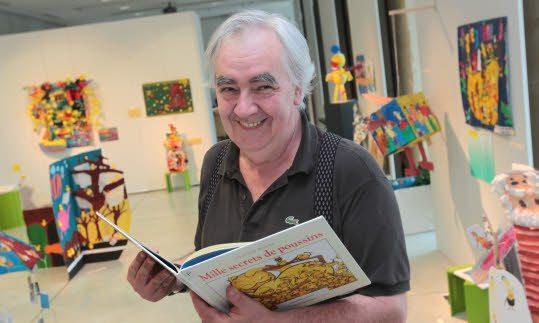 PHOTO FRANCOIS DESTOC / LE TELEGRAMME QUIMPER (29) Claude Ponti dessinateur de livres pour enfants