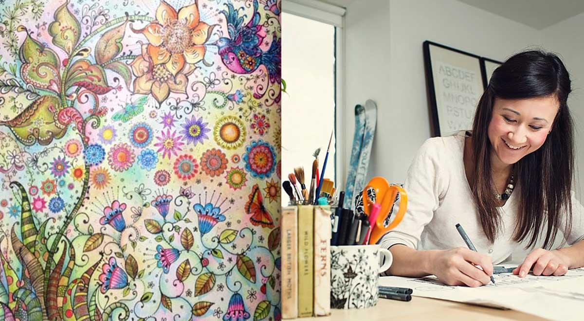 Johanna basford libros colorin colorado for El jardin secreto johanna basford