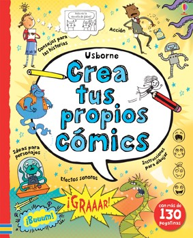 write_and_draw_your_own_comics_cover_spanish
