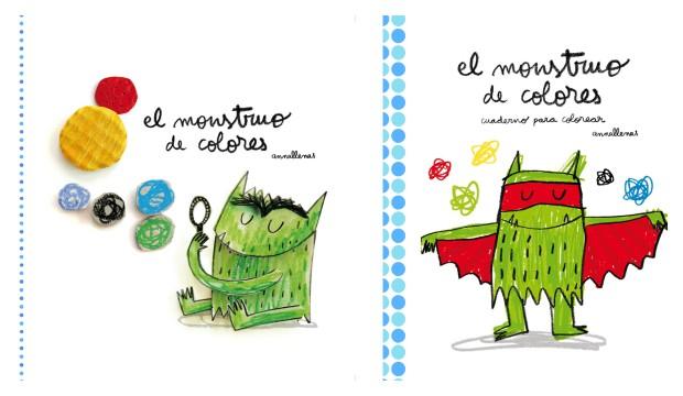 El monstruo de colores, reseña y actividades – LIBROS COLORIN COLORADO