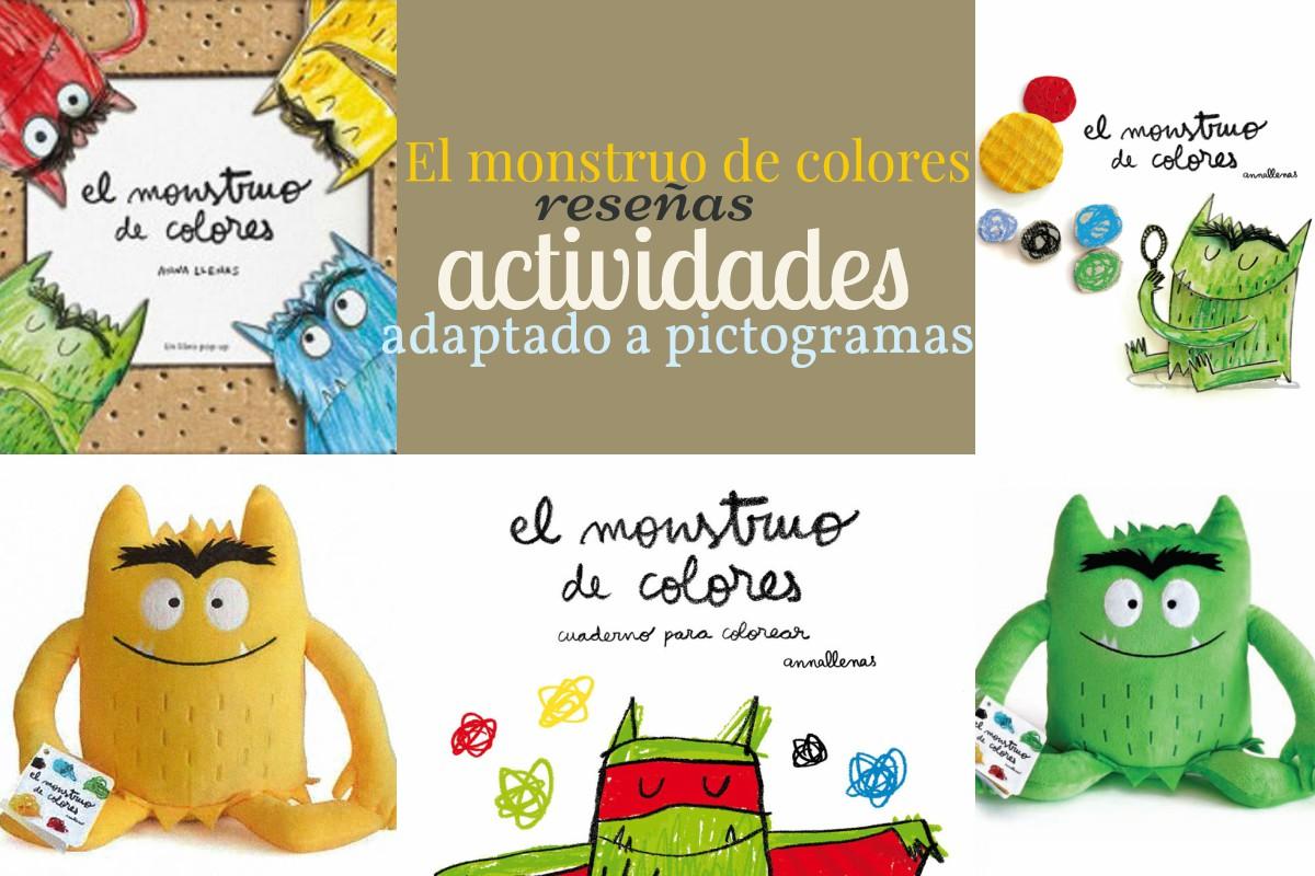 El Monstruo De Colores Reseña Y Actividades Libros