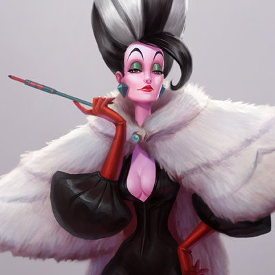 cool-cruella-de-vil-disney-fan-art-favim-com-3667855