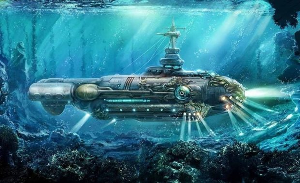 free-shipping-home-art-wall-decor-nautilus-submarine-oil-painting-picture-printed-on-canvas-no-framework.jpg_640x640