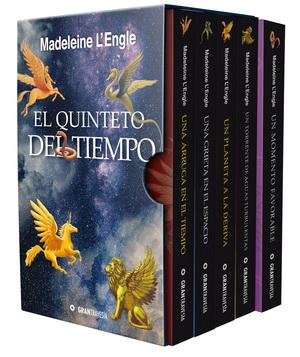 El quinteto del tiempo; Madeleine LEngle